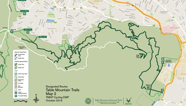 More cycling trails in Table Mountain National Park from 1 December 2016