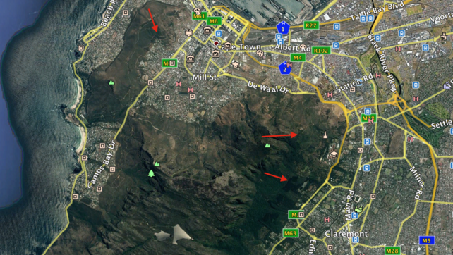 Crime Spikes in Table Mountain National Park