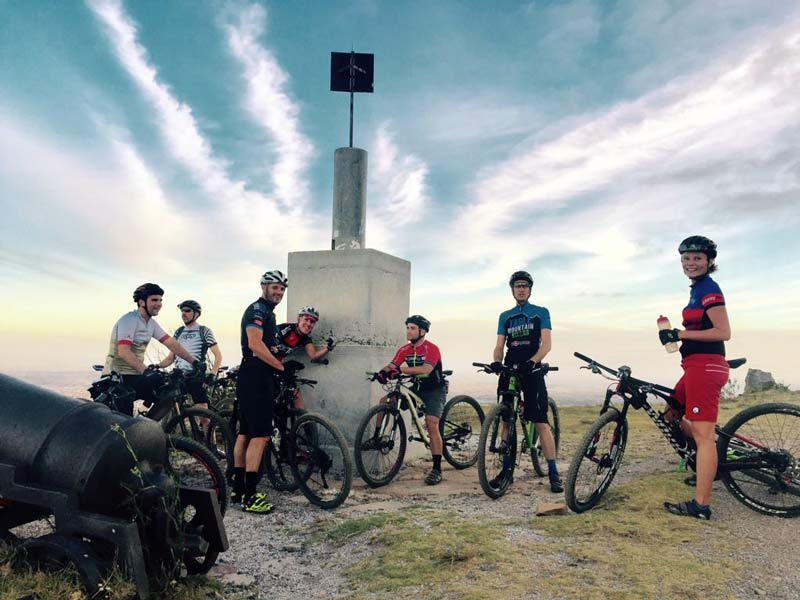 Table Mountain Bikers